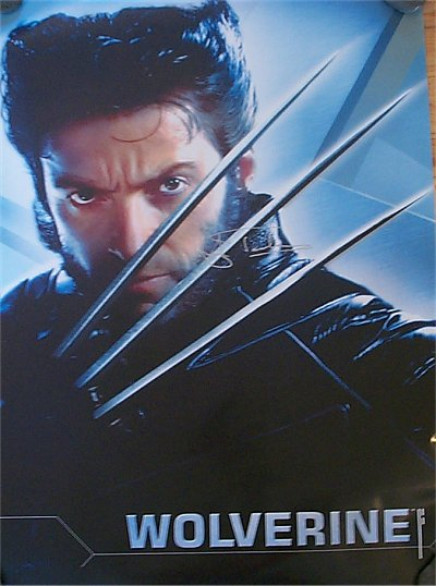 Jackman, Hugh - signed poster as Wolverine in X-Men